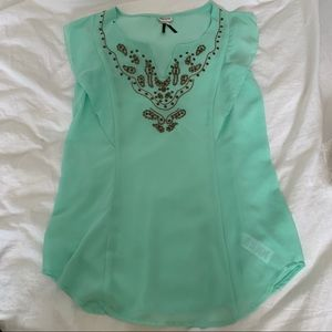 2 for $15 Dynamite Beaded Blouse